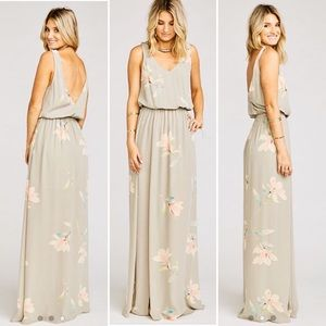 Show Me Your Mumu Kendall Maxi-Lily Showers